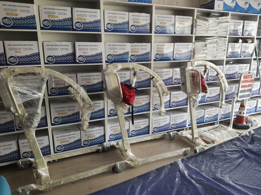 Hastalar için havalı yataklar